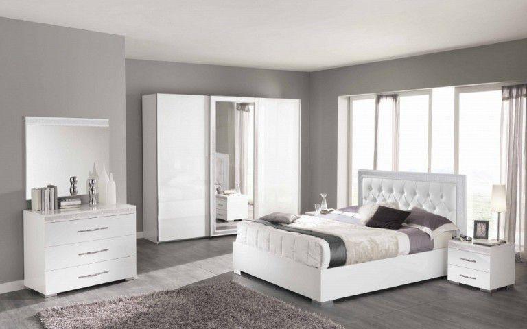 Спальня Cleo white