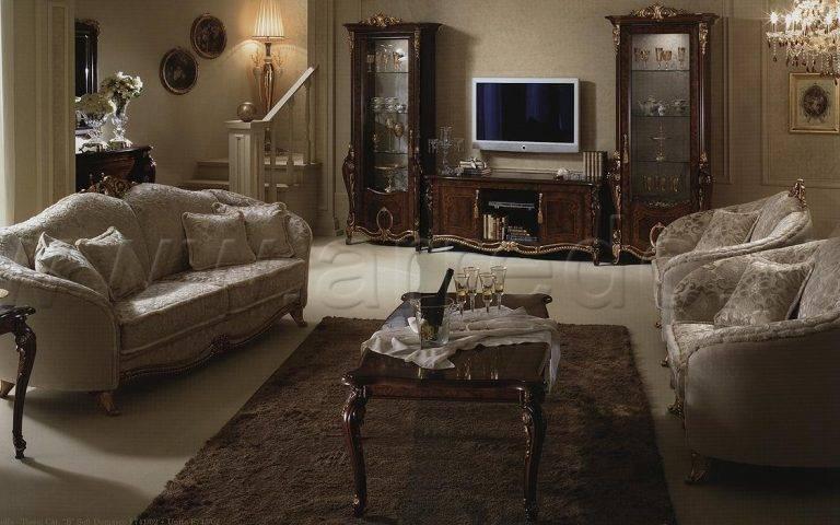 Итальянская гостиная D 04 ARREDOCLASSIC