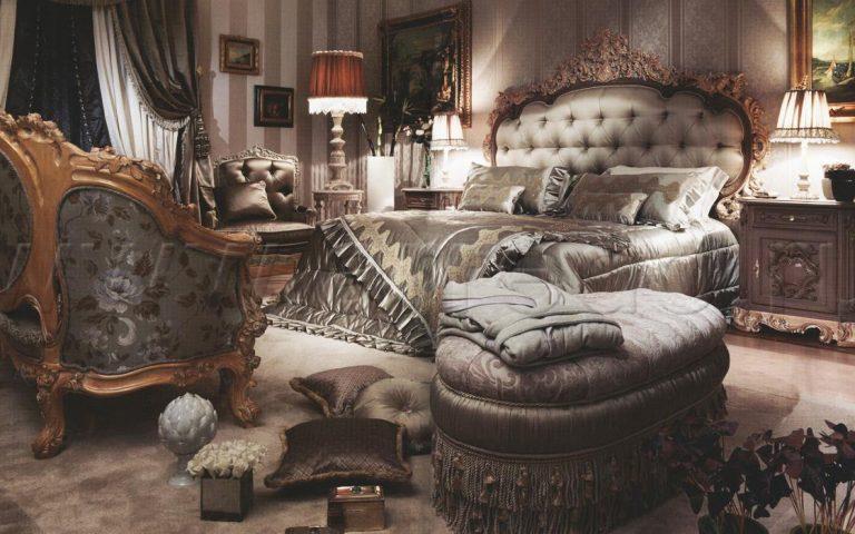 Итальянская спальня FEDRA ASNAGHI INTERIORS