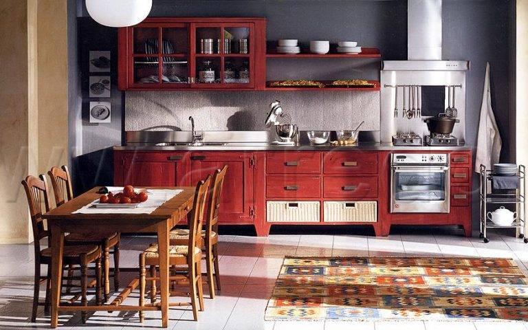 Кухня BRETAGNA BAMAX bretagna rossa
